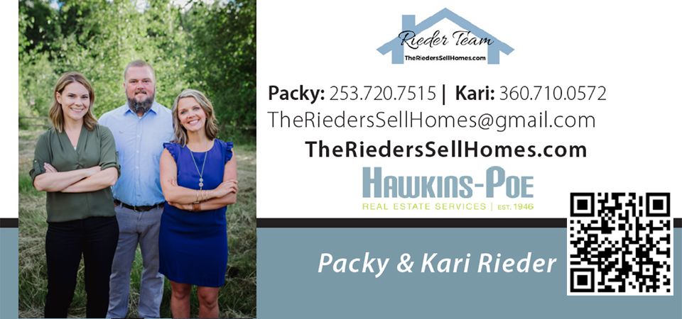 QRCode for vCard The Rieder Team Hawkins-Poe Realtor